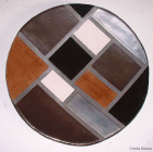 Piatto Mondrian square