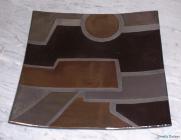 piatto Mondrian quadrato