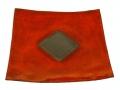 piatto Rosso - quadrato