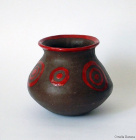 vasetto Etnico rosso