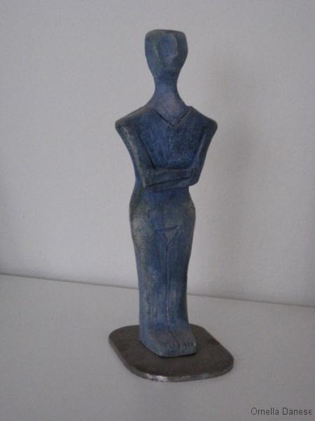 Idolo blu - Dea madre