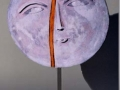 Luna spezzata - raku